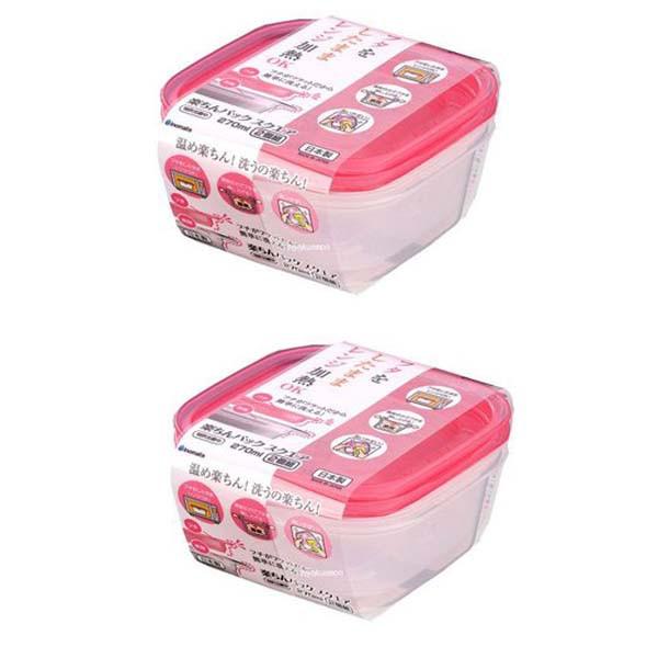 Combo 2 set 2 hộp nhựa 650ml màu hồng nội địa Nhật Bản - 1178383 , 6724382455381 , 62_4794395 , 168000 , Combo-2-set-2-hop-nhua-650ml-mau-hong-noi-dia-Nhat-Ban-62_4794395 , tiki.vn , Combo 2 set 2 hộp nhựa 650ml màu hồng nội địa Nhật Bản