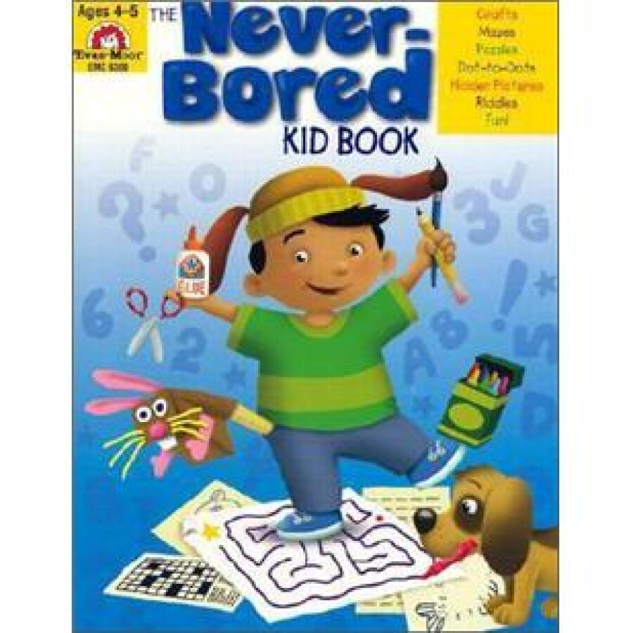 The Never-Bored Kid Book Ages 6-7 - 1233569 , 7633764321567 , 62_5260671 , 1319000 , The-Never-Bored-Kid-Book-Ages-6-7-62_5260671 , tiki.vn , The Never-Bored Kid Book Ages 6-7