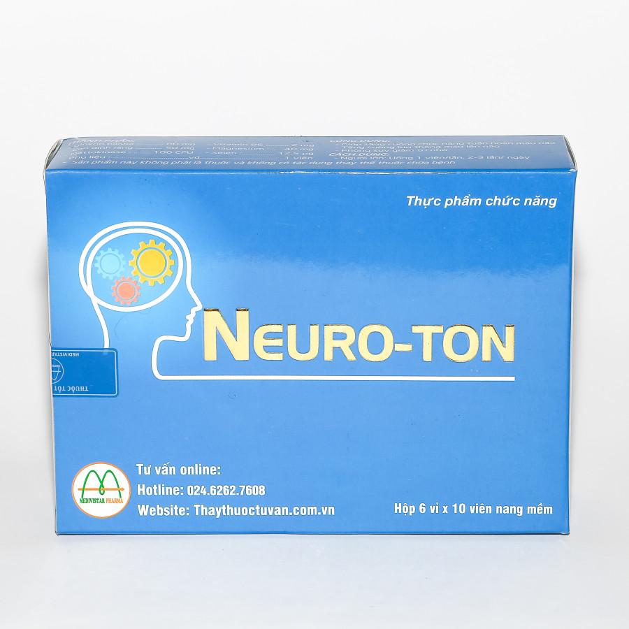 Combo 3 Hộp Thực Phẩm Chức Năng Hỗ Trợ Não Và Trí Nhớ Neuroton