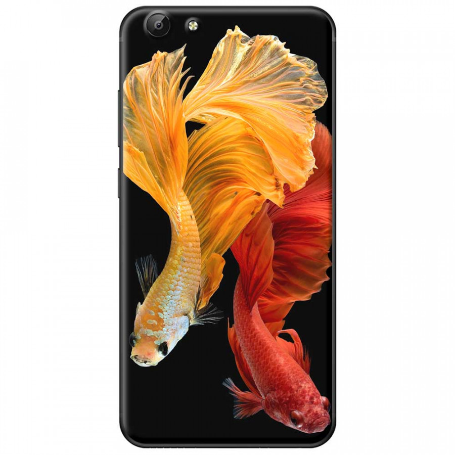 Ốp lưng dành cho Vivo Y69 mẫu Cá đỏ vàng