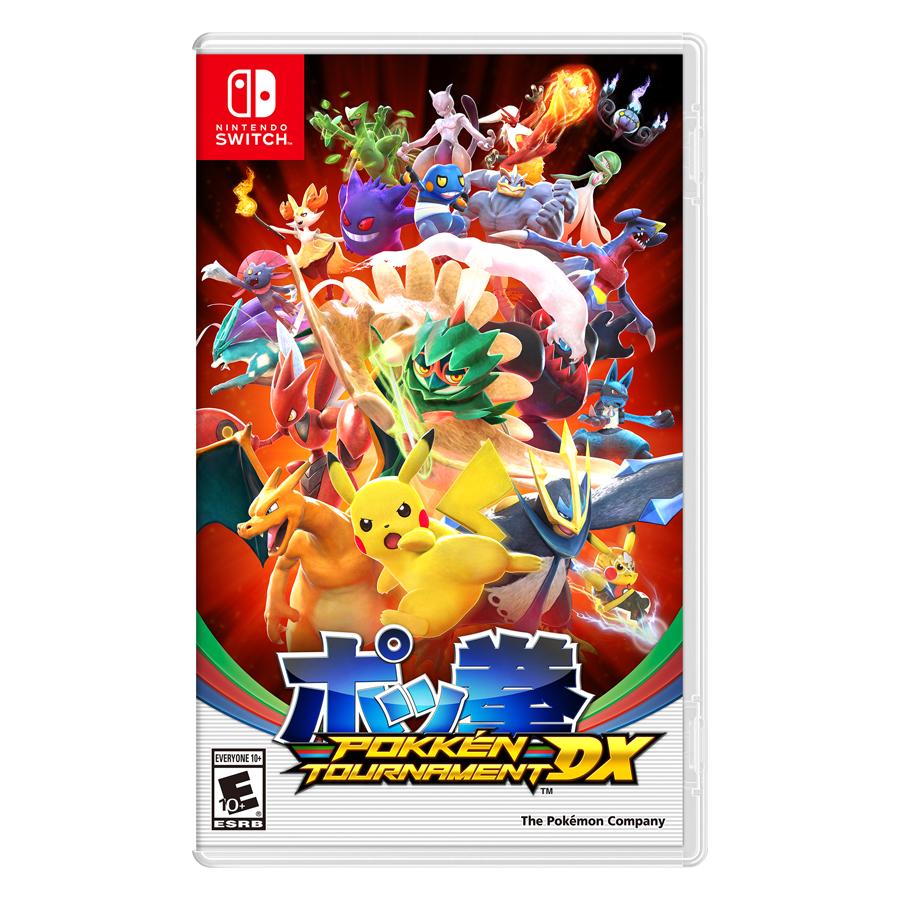 Đĩa Game Nintendo Switch Pokkén Tournament DX
