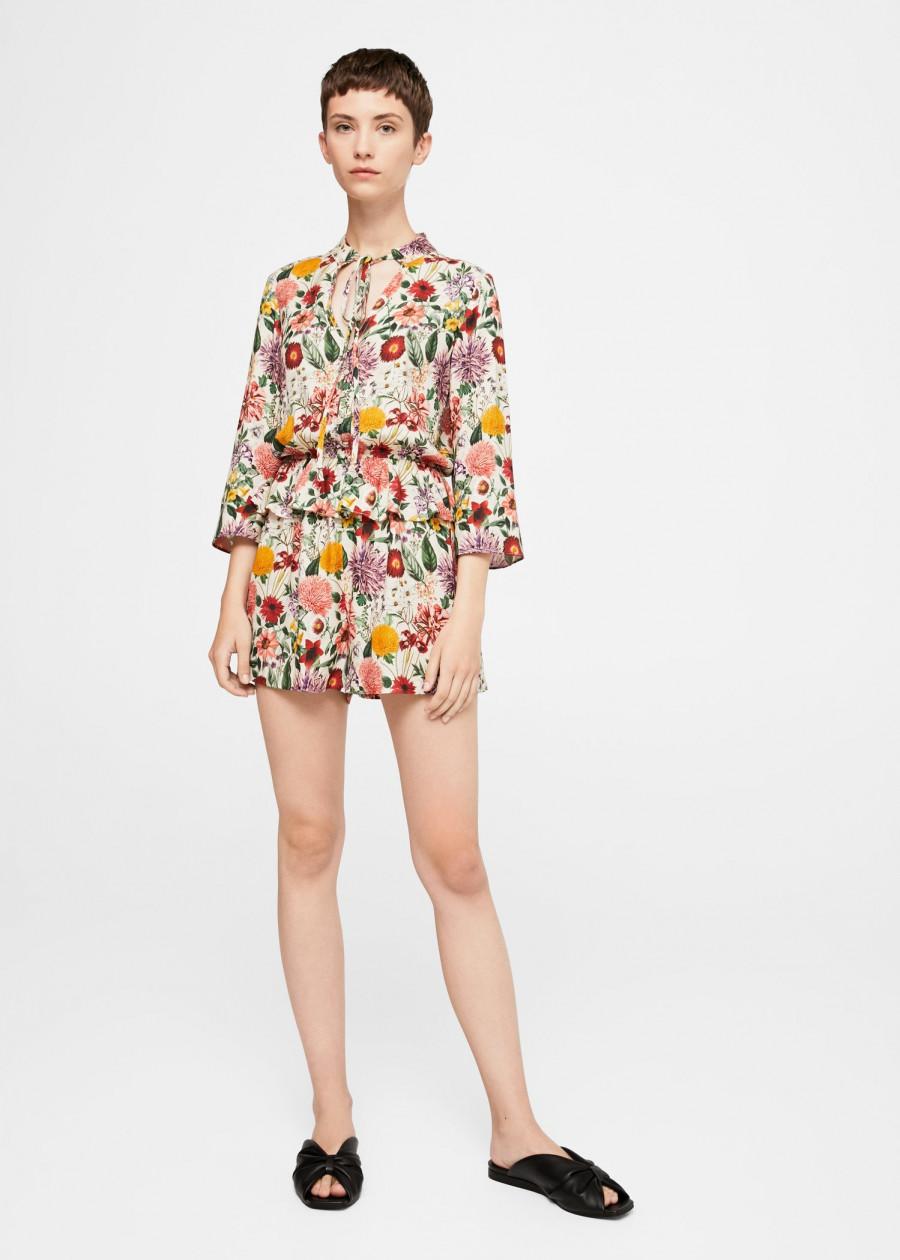 Đầm Yếm Nữ Playsuit Hamptons Mango 13083754 - Mã Màu 5