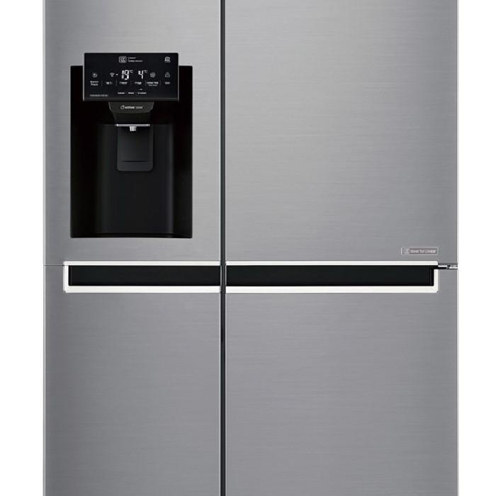 Tủ lạnh LG SBS GR-D247JDS Inverter 601 Lít   -  Hàng chính hãng - 815846 , 2044325132549 , 62_15214997 , 28590000 , Tu-lanh-LG-SBS-GR-D247JDS-Inverter-601-Lit--Hang-chinh-hang-62_15214997 , tiki.vn , Tủ lạnh LG SBS GR-D247JDS Inverter 601 Lít   -  Hàng chính hãng