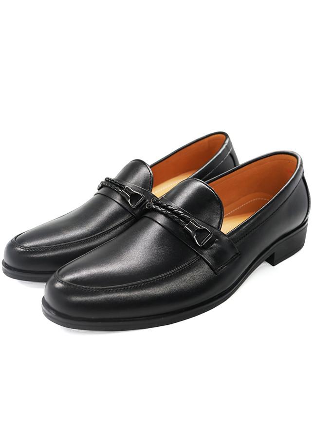 Giày Lười (Mọi) Nam Da Bò Cao Cấp - Pettino PL01