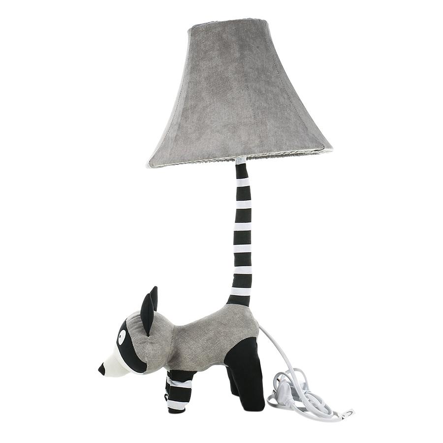 Grey Raccoon Table Lamp EU Plug Modern Cute Raccoon Table Lamp with Night Light for Bedroom Office - 2373484 , 7086108383958 , 62_15599073 , 850000 , Grey-Raccoon-Table-Lamp-EU-Plug-Modern-Cute-Raccoon-Table-Lamp-with-Night-Light-for-Bedroom-Office-62_15599073 , tiki.vn , Grey Raccoon Table Lamp EU Plug Modern Cute Raccoon Table Lamp with Night Ligh