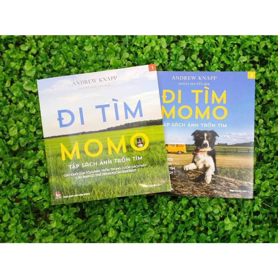 Đi Tìm Momo - Tập Sách Ảnh Trốn Tìm (Bộ 2 tập)