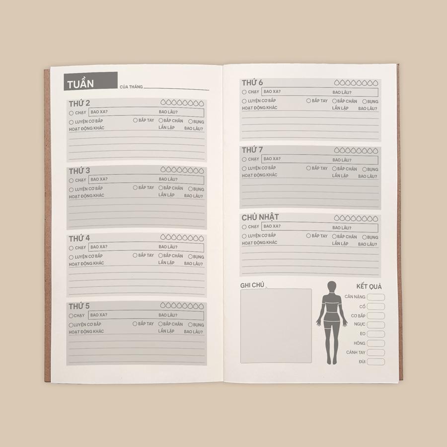 Sổ tay planner Bìa minion ngạc nhiên  kích thước 21x11 60 trang bìa cứng in hình bullet journal, nhật ký, todo list, checklist