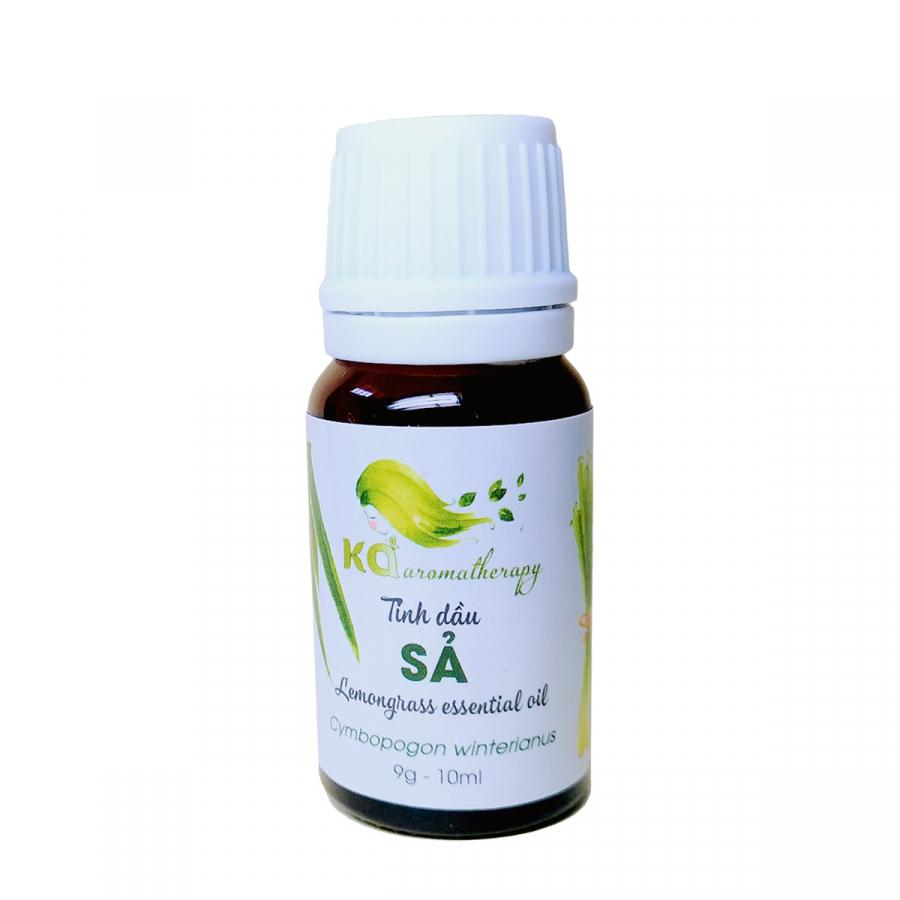 Tinh dầu sả KA AROMATHERAPY 10 ml chuyên dùng cho Aromatherapy