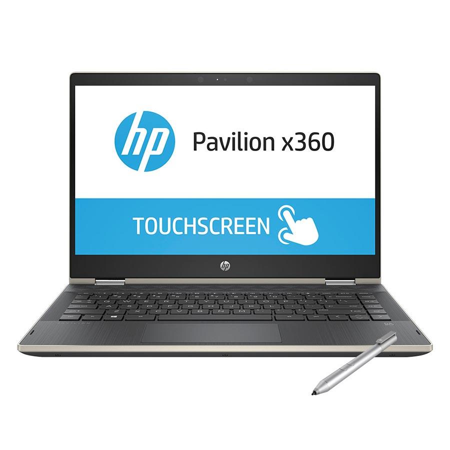 """Laptop HP Pavilion X360 14-cd1018TU 5HV88PA Core i3-8145U/ Win10 (14"""" HD Touch) - Hàng Chính Hãng"""