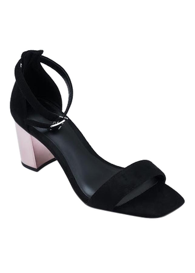 Giày Sandal Nữ Quai Ngang Gót Khói S625