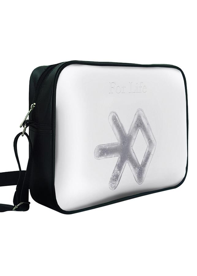 Túi Đeo Chéo Hộp Unisex In Hình Exo - For Life - TCKL114