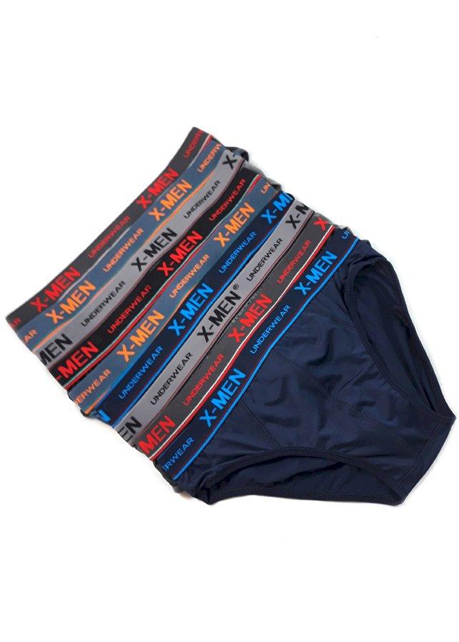 Combo 9 Quần Sịp Nam Thun Lạnh 4 Chiều Cao Cấp X-Men Underwear MS1038