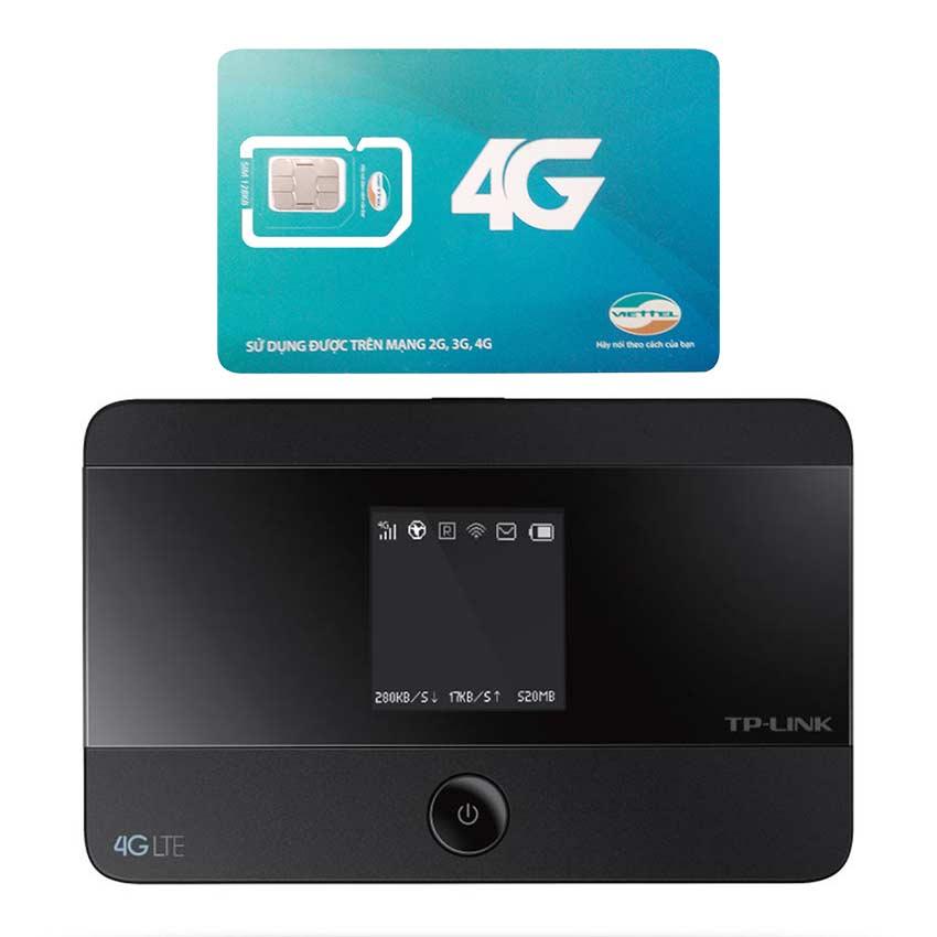Thiết bị phát wifi bằng sim 4G Tp Link M7350 + Sim Viettel 4G Siêu tốc khuyến Mãi 60GB/Tháng - 951223 , 3101332191675 , 62_2137315 , 2100000 , Thiet-bi-phat-wifi-bang-sim-4G-Tp-Link-M7350-Sim-Viettel-4G-Sieu-toc-khuyen-Mai-60GB-Thang-62_2137315 , tiki.vn , Thiết bị phát wifi bằng sim 4G Tp Link M7350 + Sim Viettel 4G Siêu tốc khuyến Mãi 60GB/