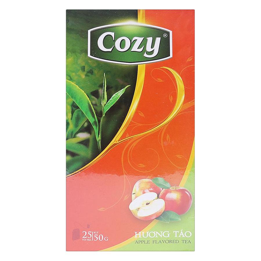 Trà Cozy Hương Táo (Hộp 25 gói) - 1045077 , 8936010530317 , 62_3337619 , 31900 , Tra-Cozy-Huong-Tao-Hop-25-goi-62_3337619 , tiki.vn , Trà Cozy Hương Táo (Hộp 25 gói)
