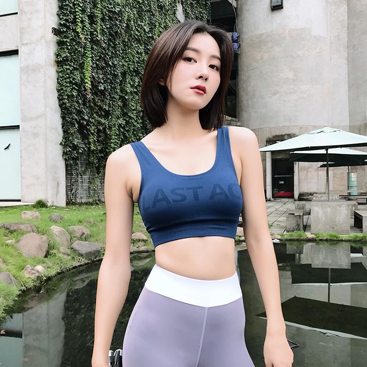 Áo bra thể thao nữ tập gym yoga phong cách hàn quốc