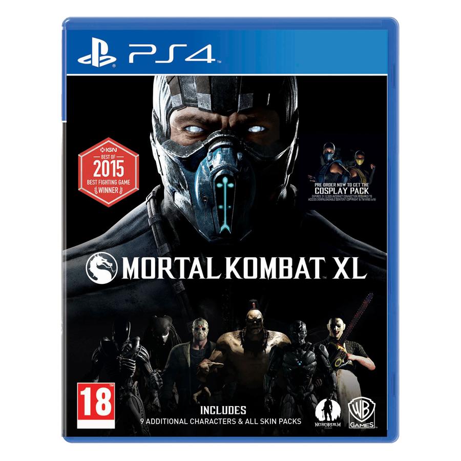 Đĩa Game PlayStation PS4 Sony Mortal Kombat XL Hệ EU