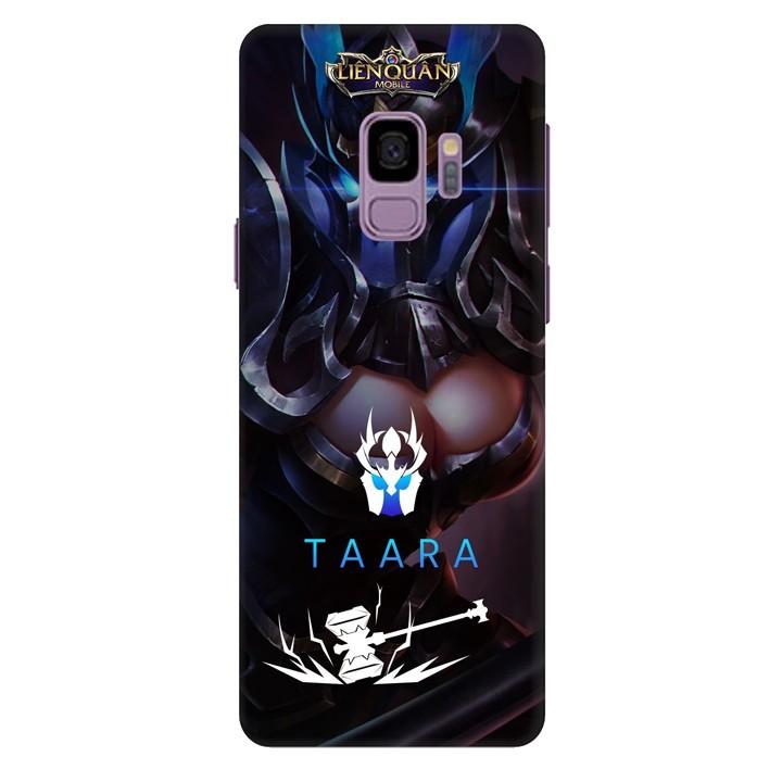 Ốp lưng nhựa cứng nhám dành cho Samsung Galaxy S9 in hình Taara