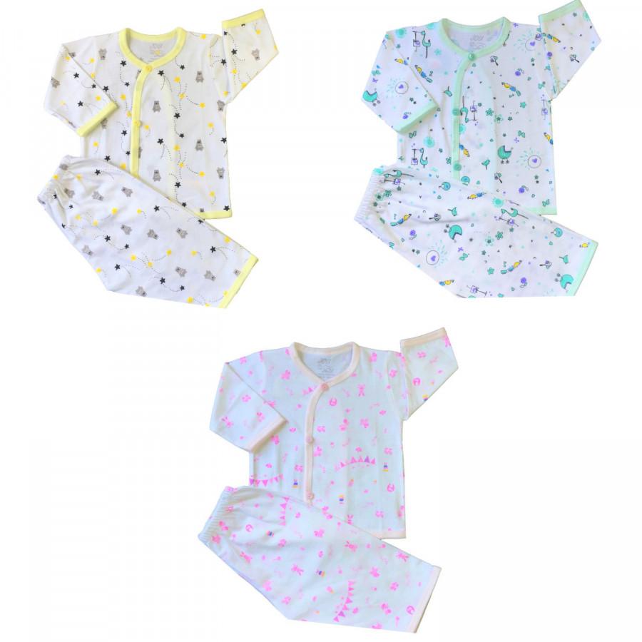 Combo 3 bộ quần áo tay dài cài xéo in họa tiết JOU - 1096925 , 5543951207654 , 62_6864575 , 170000 , Combo-3-bo-quan-ao-tay-dai-cai-xeo-in-hoa-tiet-JOU-62_6864575 , tiki.vn , Combo 3 bộ quần áo tay dài cài xéo in họa tiết JOU