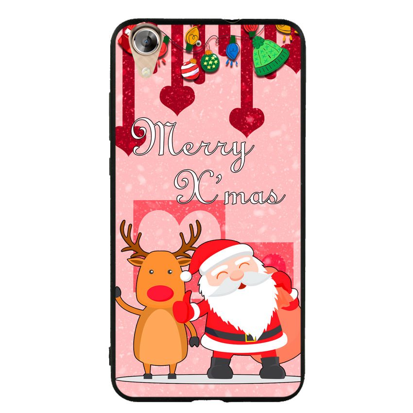 Ốp lưng viền TPU cho điện thoại Huawei Y6 II - Xmas 04