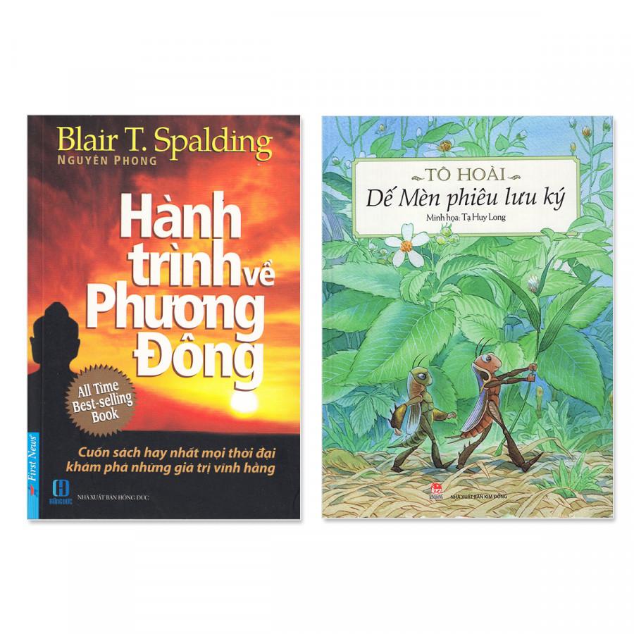 Combo sách gia đình: Hành Trình Về Phương Đông, Dế Mèn Phiêu Lưu Ký