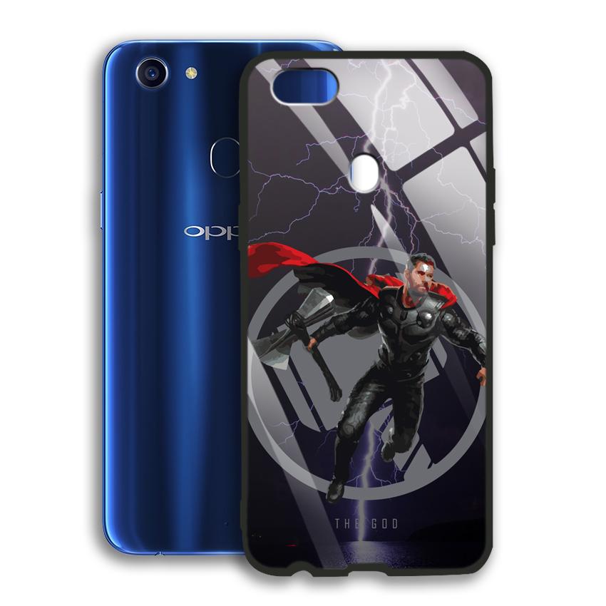 Ốp Lưng Kính Cường Lực cho điện thoại Oppo F5 - 03043 0540 GOD01 - Hàng Chính Hãng