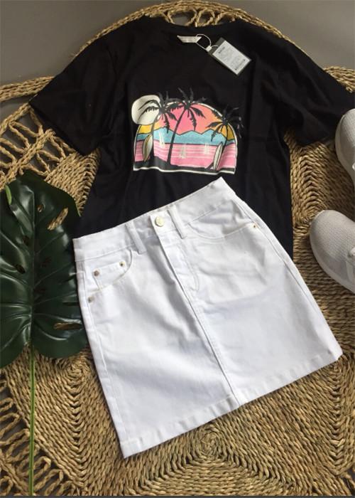 4882625575929 - Chân váy jeans trắng N21