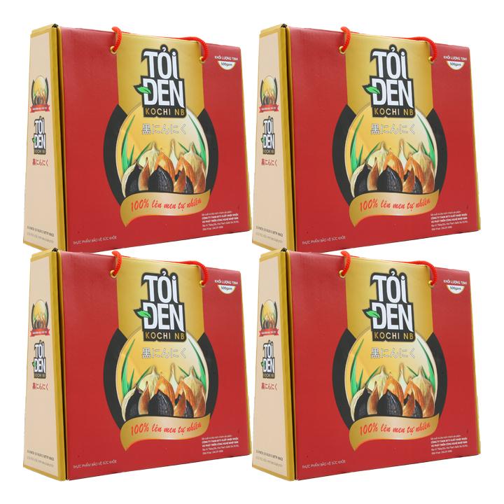 Thực phẩm chức năng Tỏi đen Kochi một nhánh 500g x 4 hộp