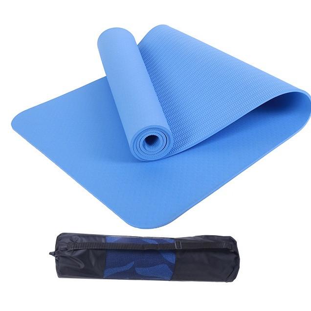 Thảm yoga 8mm 1 lớp TPE( tặng túi lưới +Dây buộc) - 2315100 , 4516015375447 , 62_14924014 , 400000 , Tham-yoga-8mm-1-lop-TPE-tang-tui-luoi-Day-buoc-62_14924014 , tiki.vn , Thảm yoga 8mm 1 lớp TPE( tặng túi lưới +Dây buộc)