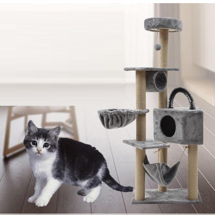 Trụ mèo / Cat tree 4 tầng nhiều bộ phận - Nhà cho mèo chơi đa chức năng Hanpet (giao màu ngẫu nhiên) - 1739275 , 6904469380397 , 62_12241948 , 1999000 , Tru-meo--Cat-tree-4-tang-nhieu-bo-phan-Nha-cho-meo-choi-da-chuc-nang-Hanpet-giao-mau-ngau-nhien-62_12241948 , tiki.vn , Trụ mèo / Cat tree 4 tầng nhiều bộ phận - Nhà cho mèo chơi đa chức năng Hanpet (