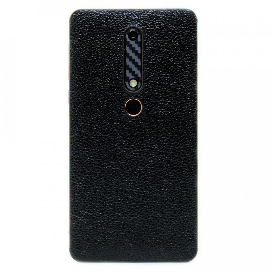 Ốp da dán cho Nokia 6 2018 - Da thật nhập khẩu cao cấp - Hàng Chính hãng (Đen vân) - 802001 , 1259618667306 , 62_13933479 , 200000 , Op-da-dan-cho-Nokia-6-2018-Da-that-nhap-khau-cao-cap-Hang-Chinh-hang-Den-van-62_13933479 , tiki.vn , Ốp da dán cho Nokia 6 2018 - Da thật nhập khẩu cao cấp - Hàng Chính hãng (Đen vân)
