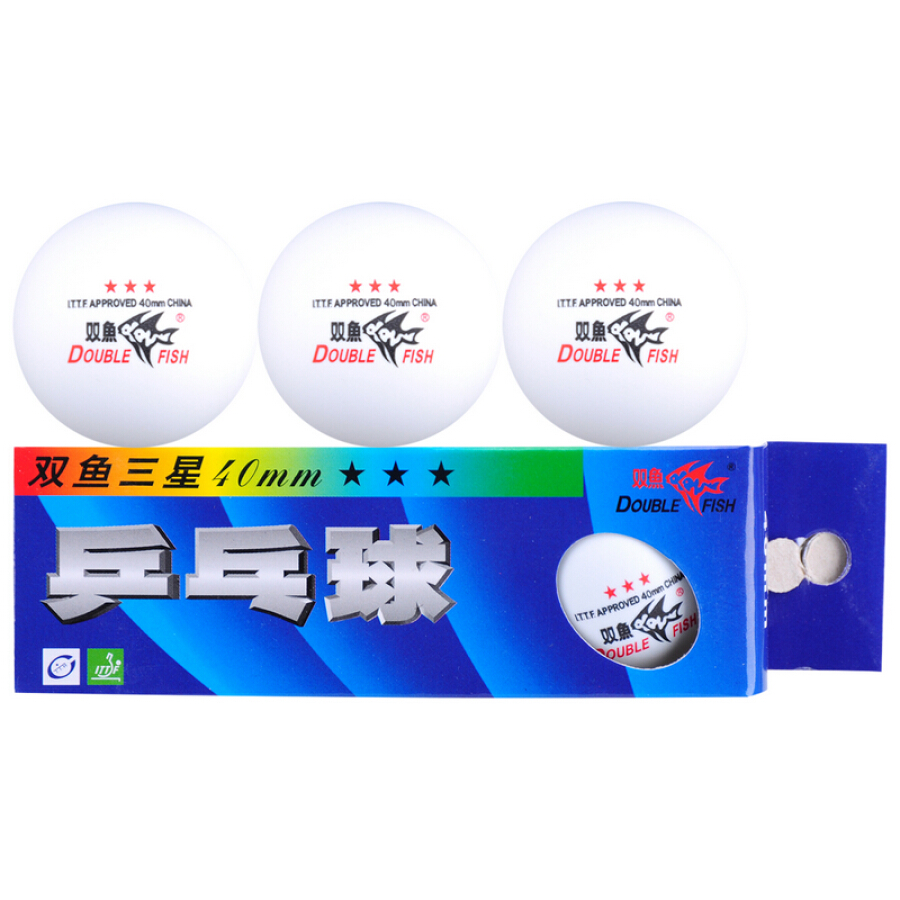 Pisces Table Tennis Samsung Match 3 Star Professional Game Ball White