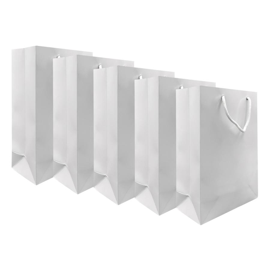 Combo 5 Túi Giấy Trắng IT08 Vinanetco (35 x 22 x 14 cm)