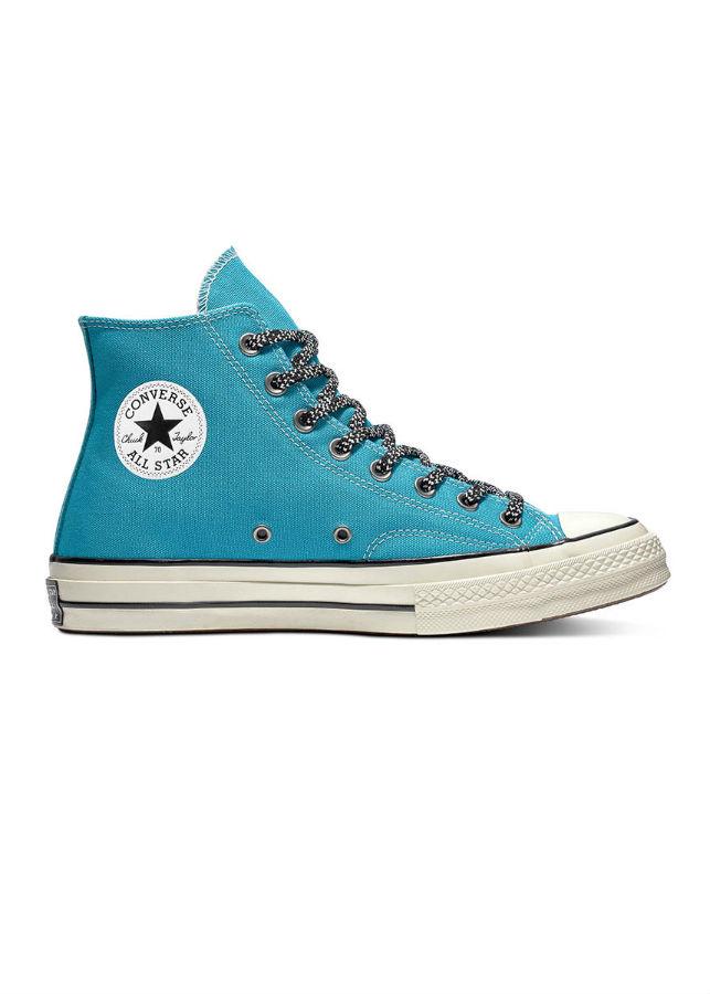 Giày Sneaker Nam Chuck 70 Vintage Canvas Mountaineering Converse 162365C - Rapid Teal/Black/Egret
