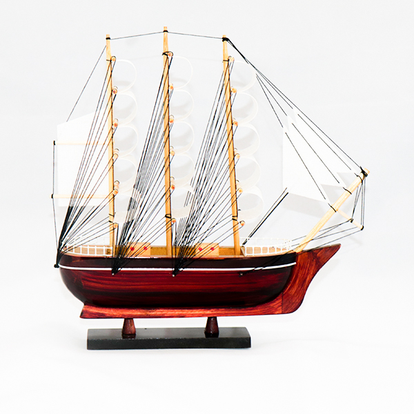 Mô hình thuyền buồm gỗ Belem
