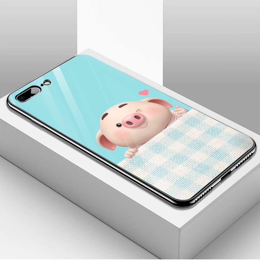 Ốp kính cường lực dành cho điện thoại iPhone 7/8 Plus - heo hồng - hh021 - 1739519 , 1826351280132 , 62_13626500 , 208000 , Op-kinh-cuong-luc-danh-cho-dien-thoai-iPhone-7-8-Plus-heo-hong-hh021-62_13626500 , tiki.vn , Ốp kính cường lực dành cho điện thoại iPhone 7/8 Plus - heo hồng - hh021