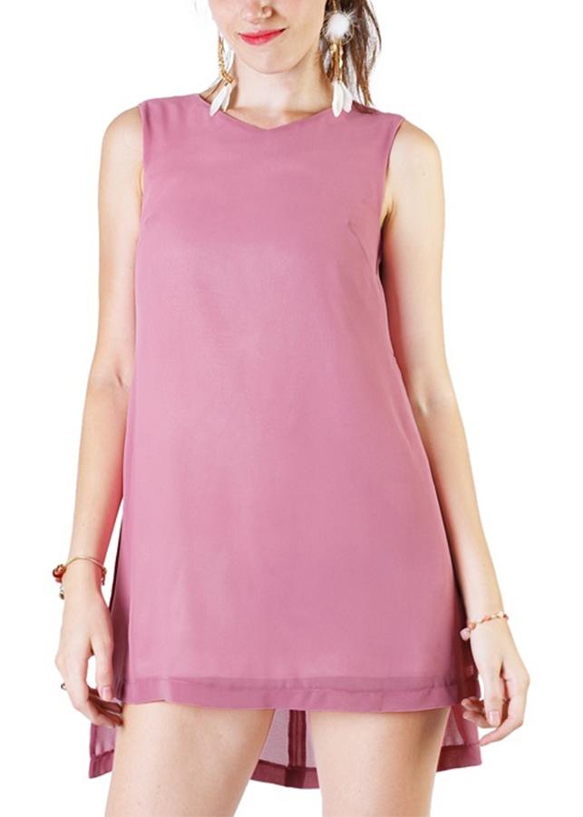 Đầm Tim Xẻ Tà Quyến Rũ Siskin 79890422 - Hồng