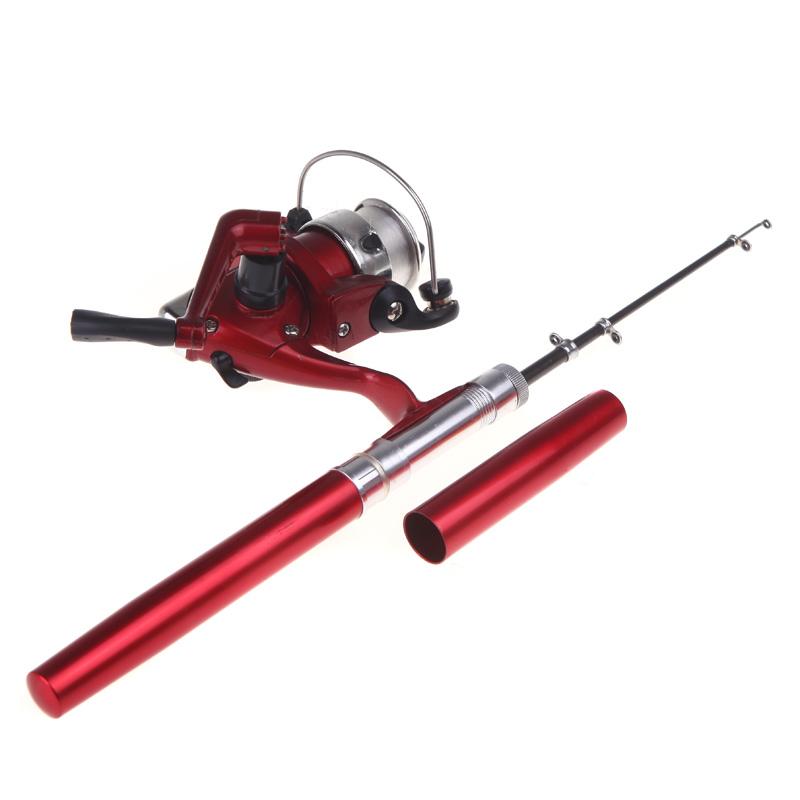 Mini Aluminum Pocket Pen Fishing Rod Pole + Reel - 2235565 , 4179349368204 , 62_14355191 , 328000 , Mini-Aluminum-Pocket-Pen-Fishing-Rod-Pole-Reel-62_14355191 , tiki.vn , Mini Aluminum Pocket Pen Fishing Rod Pole + Reel