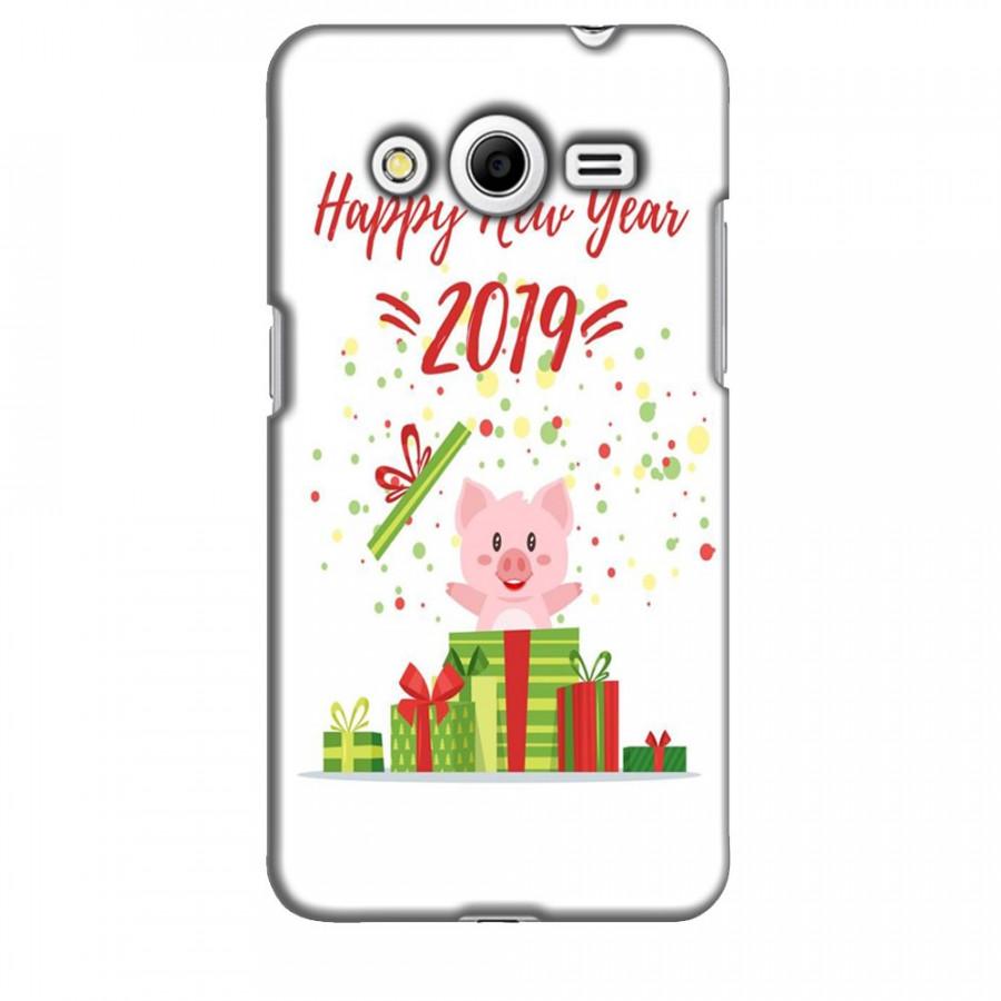 Ốp lưng dành cho điện thoại  SAMSUNG GALAXY CORE 2 Happy New Year Mẫu 3
