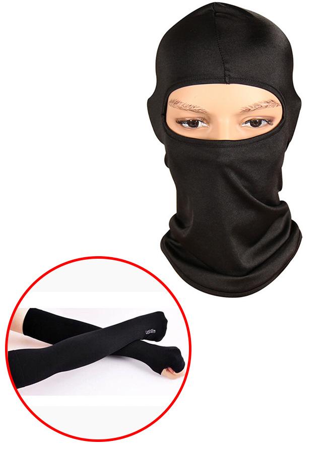 Combo Khăn trùm đầu Ninja Fullface + Găng Tay Chống Nắng Xỏ Ngón màu đen - 7504133 , 2979212053181 , 62_16297786 , 80000 , Combo-Khan-trum-dau-Ninja-Fullface-Gang-Tay-Chong-Nang-Xo-Ngon-mau-den-62_16297786 , tiki.vn , Combo Khăn trùm đầu Ninja Fullface + Găng Tay Chống Nắng Xỏ Ngón màu đen