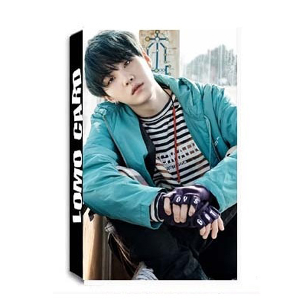 Lomo card SUGA BTS