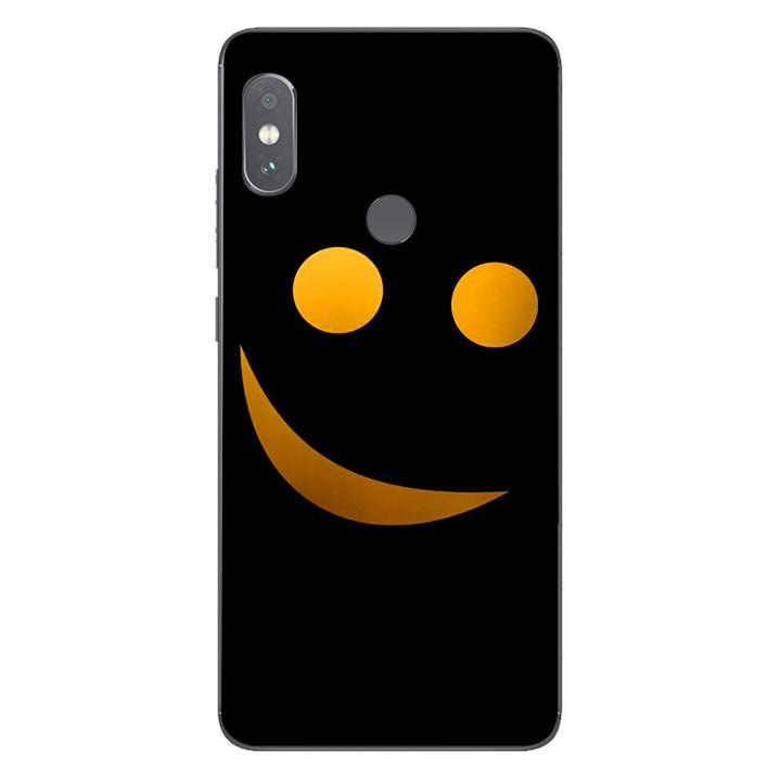Ốp lưng dẻo cho điện thoại Xiaomi Redmi Note 5 Pro_Smile 03