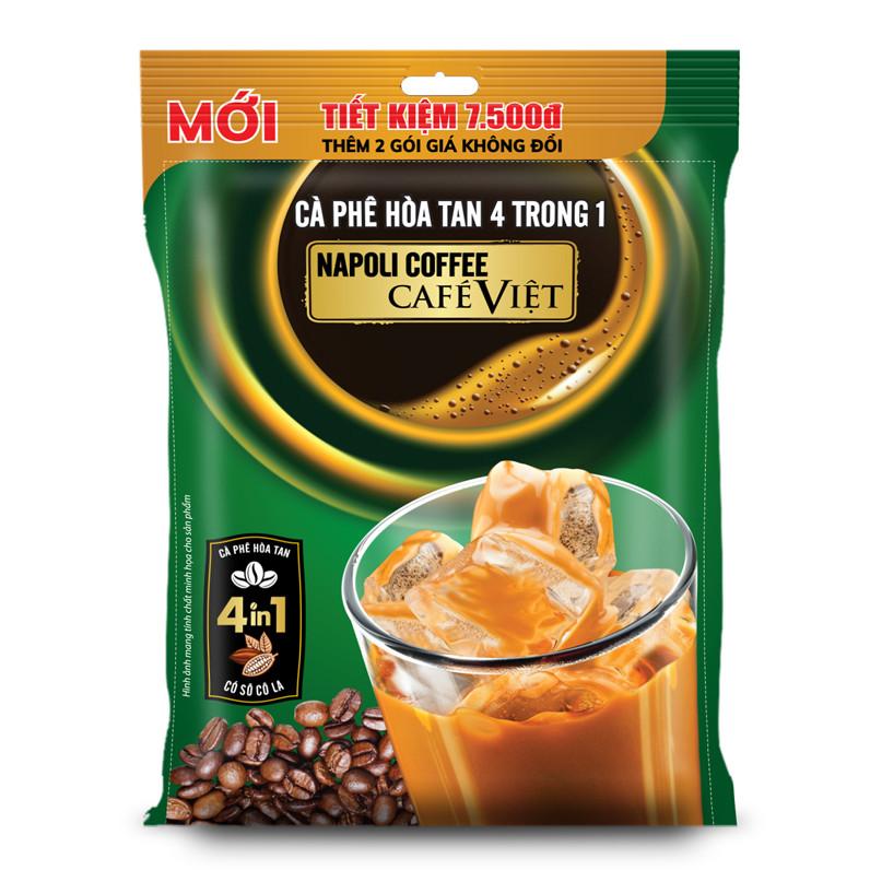 Cà phê hòa tan 4in1 (18 gói )