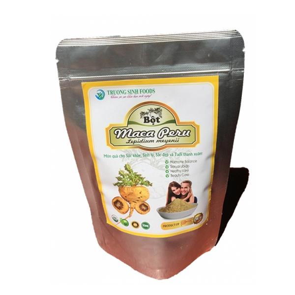 Bột Maca Peru Vàng Lepidium Meyenii Trường Sinh Foods