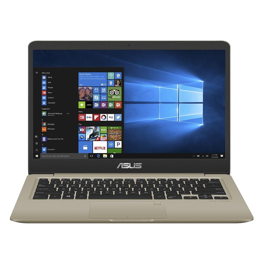 Laptop Asus Vivobook S14 S410UN-EB279T Core i5-8250U/Win10 (14 inch) (Gold) - Hàng Chính Hãng - 1125721 , 6074320055730 , 62_4267355 , 19990000 , Laptop-Asus-Vivobook-S14-S410UN-EB279T-Core-i5-8250U-Win10-14-inch-Gold-Hang-Chinh-Hang-62_4267355 , tiki.vn , Laptop Asus Vivobook S14 S410UN-EB279T Core i5-8250U/Win10 (14 inch) (Gold) - Hàng Chính