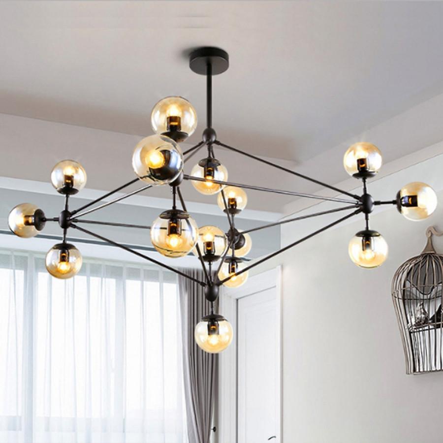 Đèn thả chùm phòng khách hiện đại ORIC 15 bóng cao cấp CHI LAMP