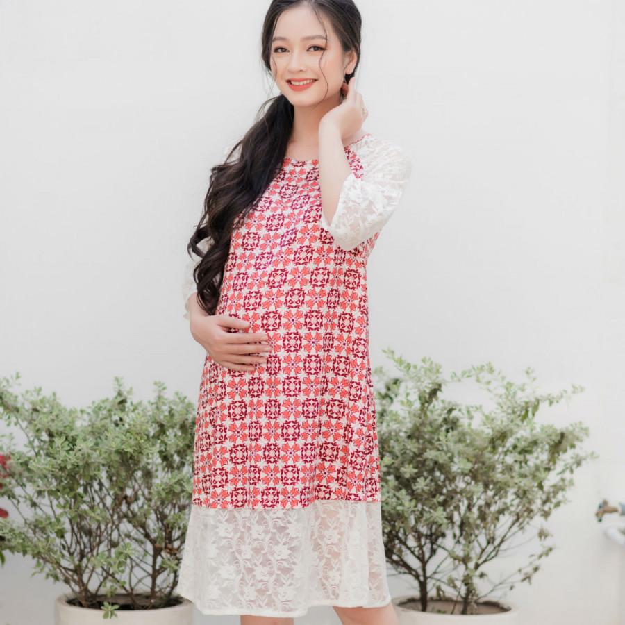 đầm bầu cách tân kiểu áo dài thời trang Emum - 9911822 , 2894879449750 , 62_19814892 , 410000 , dam-bau-cach-tan-kieu-ao-dai-thoi-trang-Emum-62_19814892 , tiki.vn , đầm bầu cách tân kiểu áo dài thời trang Emum