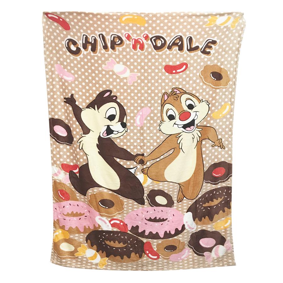 Chăn Mền Băng Lông Disney Mẫu Sóc Chuột Chipmunk (2 x 1.6m)
