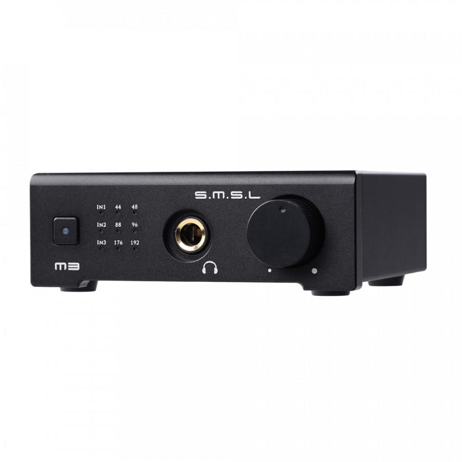 SMSL M3 HiFi Headphone Amplifier USB DAC AMP Multi-function Optical Coaxial Headphone Amplifier Portable USB Powered