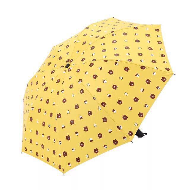 Ô dù đi mưa gấp gọn hình gấu Brown - 794519 , 7368049135750 , 62_9696587 , 150000 , O-du-di-mua-gap-gon-hinh-gau-Brown-62_9696587 , tiki.vn , Ô dù đi mưa gấp gọn hình gấu Brown
