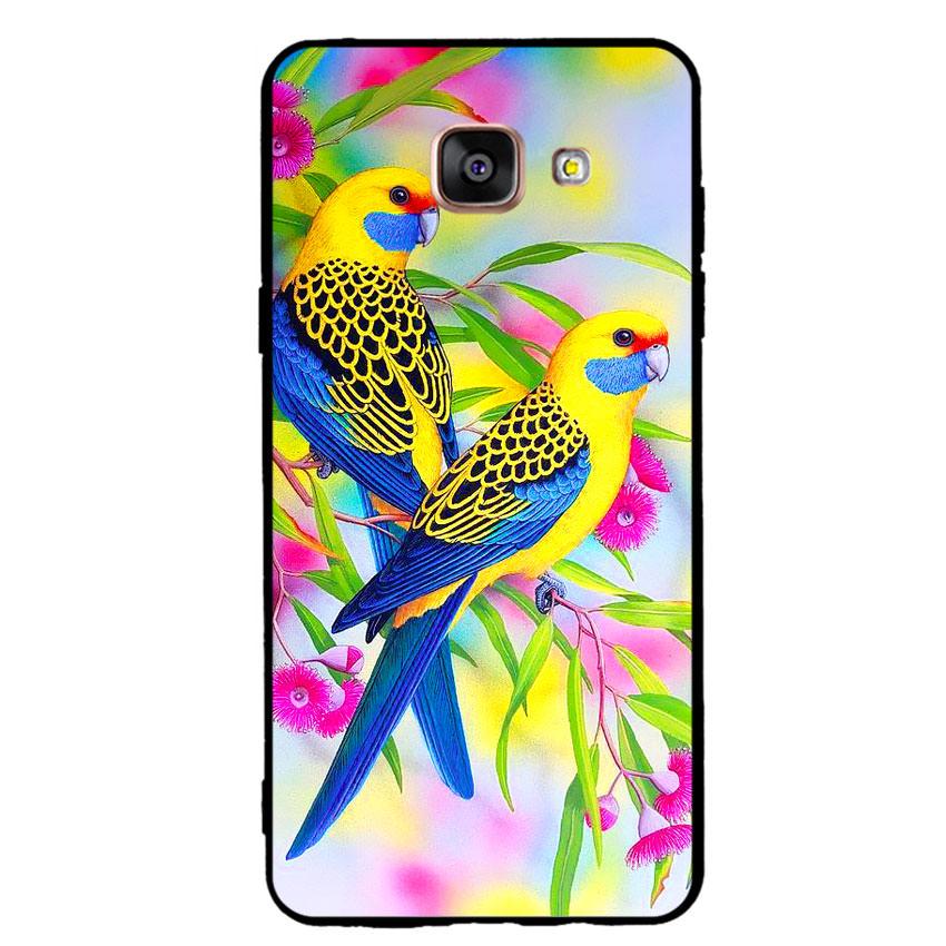 Ốp lưng nhựa cứng viền dẻo TPU cho điện thoại Samsung Galaxy A5 2016 - Couple Bird